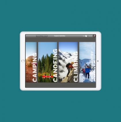 Protected: Concepting & Design – REI iPad App